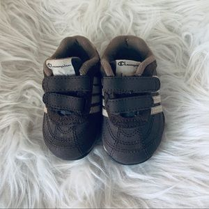 CHAMPION | Baby boy 4W Brown shoes
